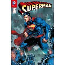 SUPERMAN (2012) #1 deutsch ERLANGEN-VARIANT A  JIM LEE  Erstausgabe