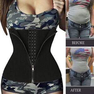 Women Waist Trainer Body Shaper Slimmer Sweat Belt Tummy Control Neoprene Girdle
