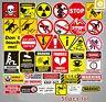 Waterproof Sticker Warning Sign SQL Programming Geek Hacker Bitcoin Developer