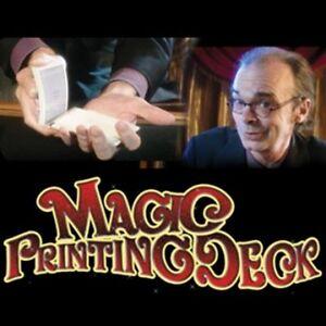 MAGIC PRINTING DECK PLAYING CARDS MENTAL PHOTOGRAPHY BLANK BRIDGE SIZE TRICKS