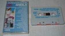 SHEILA (K7 Audio) LES PLUS GRANDS SUCCES DE SHEILA