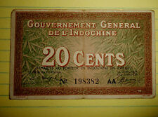 FRENCH INDO CHINA - NOTE - 198382 - 1939 BOAT GIRL HAT - VIETNAM WAR WWii - 4954