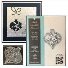 Piccolo Snowflake Ornament metal die Memory Box Cutting Dies 99830 Christmas