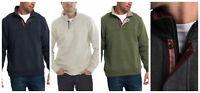 Orvis Men's Signature 1/4 zip Pullover Sweater Sweatshirt COLOR VARIETY MW-26