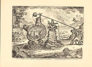 1873 james gillray ( the caricaturist ) print. political mathematicians