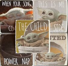 20 Mandalorian: The Child Stickers Party Favors Supplies Birthday Baby Yoda