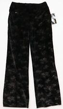Lisette L 30009 Fit to Flatter Black Velvet Garden Palazzo Pants Wide Leg Size 6