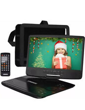 HDJUNTUNKOR Portable DVD Player with 10.1 HD Swivel Display Screen, 5 Hour Car