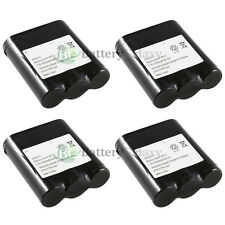 4 Cordless Home Phone Rechargeable Battery for Panasonic KX-TGA510M N4HKGMA00001