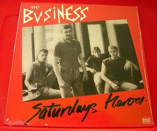 The Business Saturdays Heroes LP SPANISH RI 2013 NEW SEALED Ltd 500 Oi! VINYL