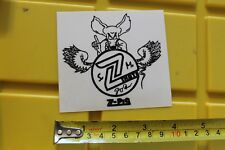 Z-FLEX Skateboards Jimmy Plumer Rat Wings Surf Skate Vintage Decal STICKER