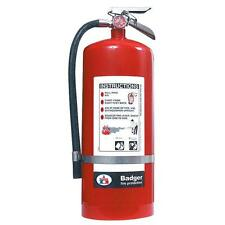 Badger Extra 20 lb BC Fire Extinguisher w/ Wall Hook - 23482B
