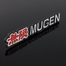 3D Car Trunk Emblem Badge Sticker Decal MUGEN for HONDA CIVIC ACURA - Aluminum