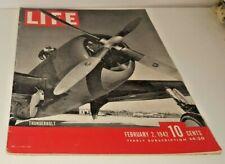 February 2, 1942 LIFE Magazine Historical ads advertising FREE SHIPPING Feb 3 4
