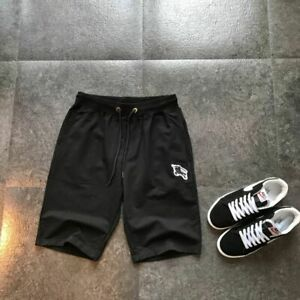 Burberry cotton terry casual sports shorts