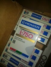Pioneer L-750 Beta Tape - Blank - 10 Pieces - NOS