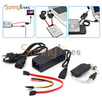 """SATA/PATA/IDE 2.5""""/3.5"""" to USB 2.0 Adapter Converter Cable for Hard Drive Disk"""