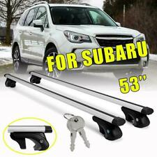 2x Top Roof Rack Cross Bar Cargo Luggage For Subaru Forester Outback Sedan Wagon