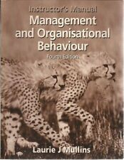 Management and Organisational Behaviour: Instruction Manual, Mullins, Laurie, Us