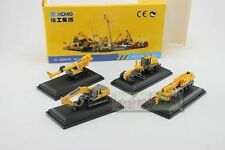 MINI XCMG 4 in 1 diecast model(Rotary Drilling Rig,crane,excavator,motor grader