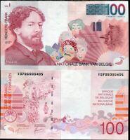 BELGIUM 100 FRANCS ND 1995 - 2001 P 147 UNC