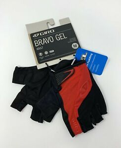 Giro Bravo Gel Red Cycling Gloves Size Medium New with Tags