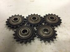 MARTIN 40BB17H BALL BEARING IDLER SPROCKET 17 TEETH 1/2IN BORE - LOT OF 5
