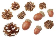 Tannenzapfen Eicheln 2,5-4 cm Winter Deko, Weihnachten Floristik Zapfen Hobbyfun