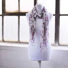 Écharpes et châles rouge à motif Floral pour femme   eBay f719c880421