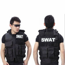 Men's SWAT Airsoft Tactical Vests Hunting Combat Vest With Removable SWAT HOT