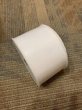 "White 4"" x 250 Yd (750 Ft) Tulle Fabric Spool Wedding Bows And Swags"