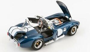 NEW,NEVER OPENED! Blue 1965 Shelby Cobra 427 -1/18 Metal by Shelby Collectibles