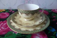 Antique Royal Worcester English China Trio Tea Cup Saucer Plate W 5832
