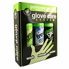 Glove Glu Goalkeeper Football Glove Care System Wash Refresh Revive 3 Spray Pack