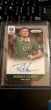 Robbie Keane Auto Card prizm 2016 Ireland