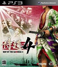 Used PS3 Samurai Dou 4 PLAYSTATION 3 SONY JAPAN JAPANESE IMPORT