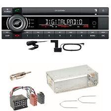 Kienzle CR 1225 DAB Digitalradio Bluetooth CD USB Einbauset für BMW E30 E34 E32