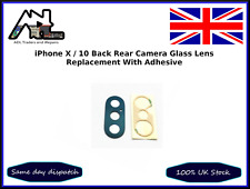 iPhone X iPhone 10 Back Rear Camera Glass Lens Replacement With Adhesive Tape