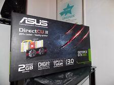 ASUS NVIDIA GeFORCE GTX 660 (2048 MB) - GRAFIKKARTE - DIRECTX 11 - OVP 331