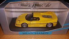 Minichamps 1/43 Ferrari F50 1995 yellow
