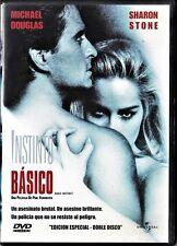 Paul Verhoeven: INSTINTO BÁSICO (2 DVD) Tarifa plana en envío dvd España, 5 €