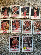 1990-91 Fleer Chicago Bulls Team Cards Michael Jordan Scottie Pippen and more