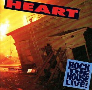 CD - HEART / rock the house live