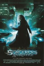 THE SORCERER'S APPRENTICE MOVIE POSTER 2 Sided ORIGINAL FINAL 27x40 NICOLAS CAGE
