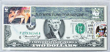 Paper Money US Two Dollar Bill 1976 National Currency Note $2 Gem Unc Stamp Deer