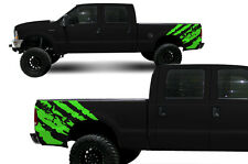 Custom Vinyl Decal Rip Wrap Kit for Ford F-250/F-350 Truck 1999-2006 Grass Green