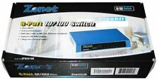 Zonet 8-Port 10/100 Fast Network Switch. Faster than a HUB! Cheaper than 5-Port