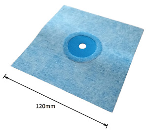 12 x 12 cm Waterproof Tanking Pipe Collar Elastic Sleeve Wet Room System 1-3cm Ø