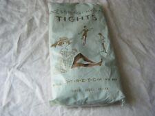 Vintage Girls Stretch Nylon Tights, Girls size 11-14