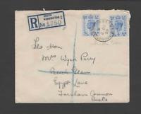 GB  1950 4d  (SG 508) LIGHT BLUE FIRST DAY COVER-SOUTH KENISNGTON POSTMARK